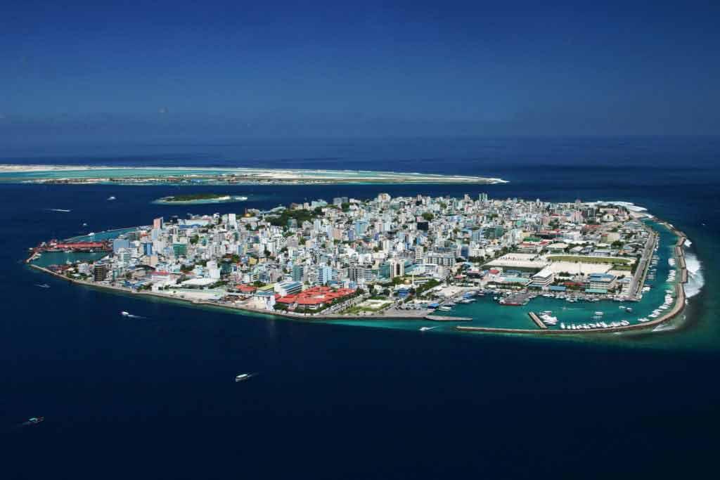 Capital Island of Maldives