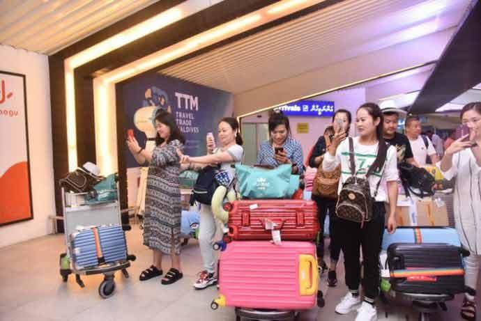 Chinese Employees visit Maldives