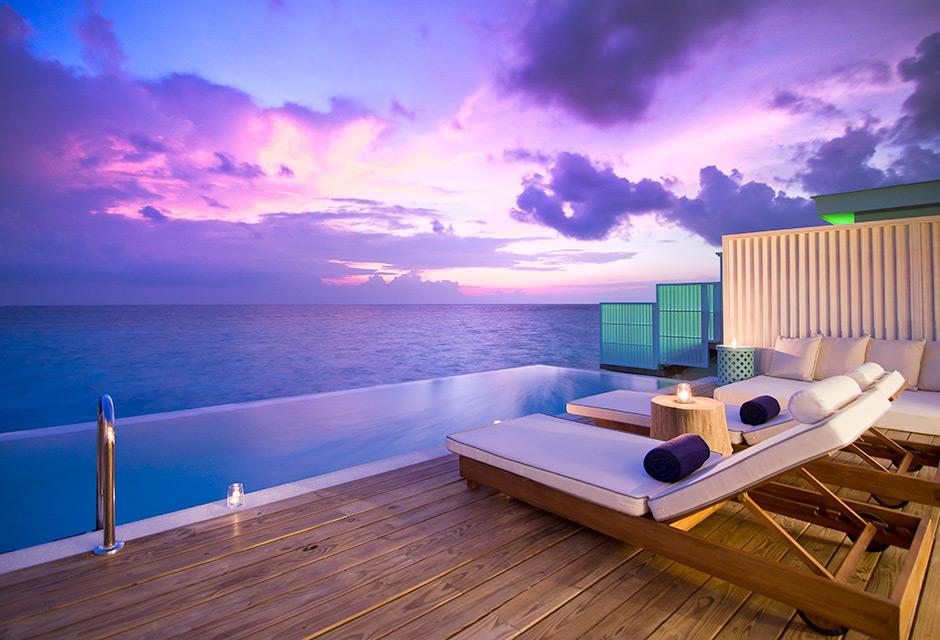 Lagoon House Sunset