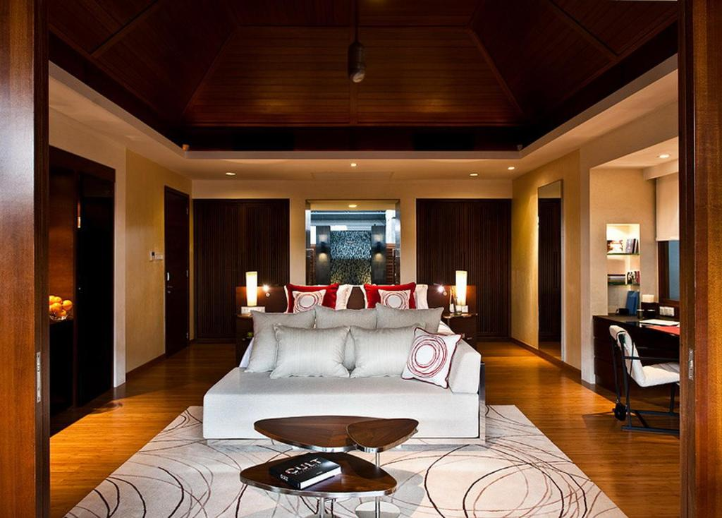 Bedroom of Beach Villa at Niyama Maldives Resort